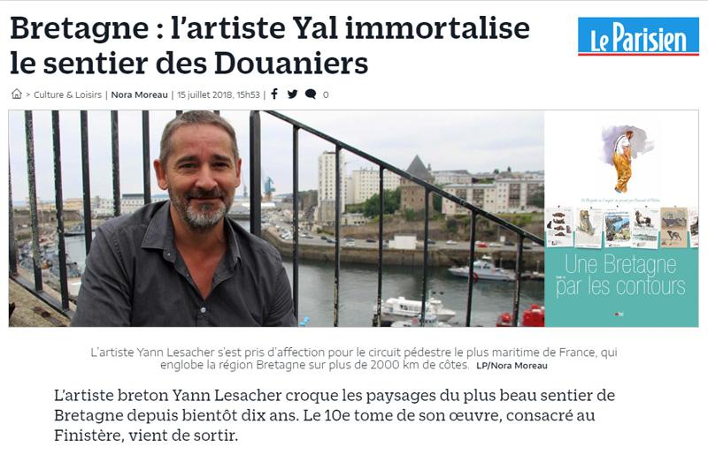 Article Le Parisien - 15 juillet 2018